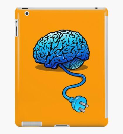 Your Brain without Coffee - Blue iPad Case/Skin