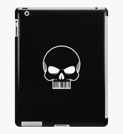 CONSUMER. -black- iPad Case/Skin