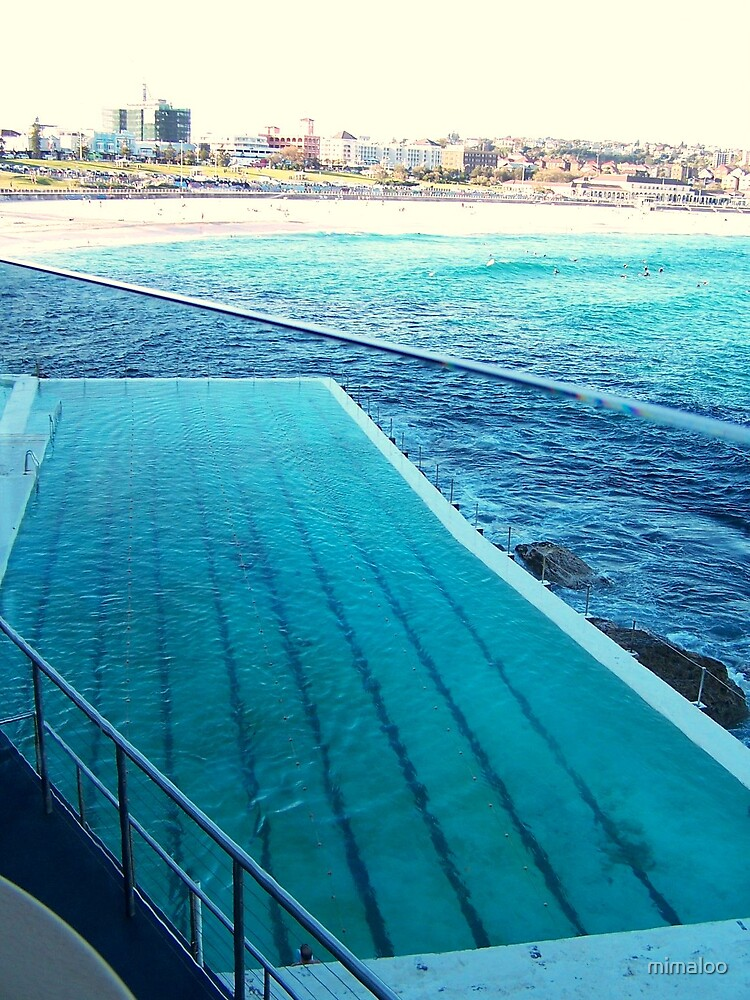 pool in the ocean by mimaloo