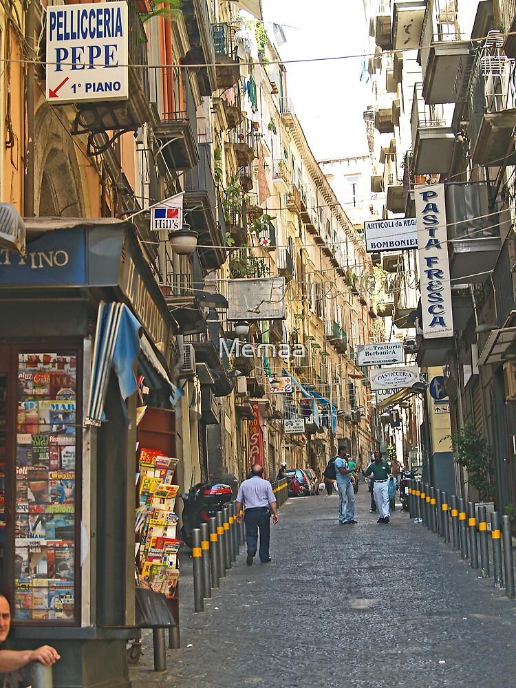 Naples Side Street 2 by Memaa