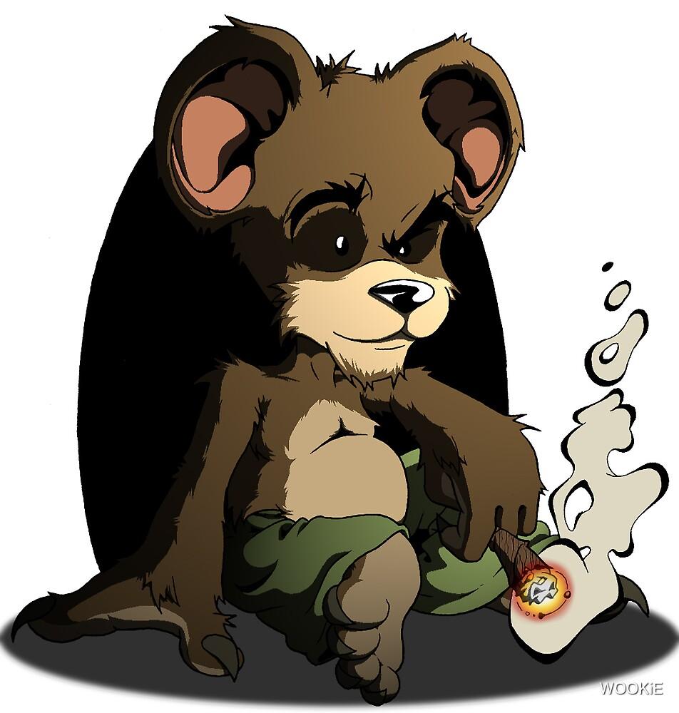 Blunt Bear by WOOKiE