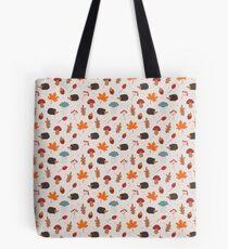 Autumn hedgehog Tote Bag