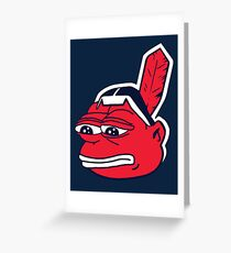 Pepe The Chief Greeting Card