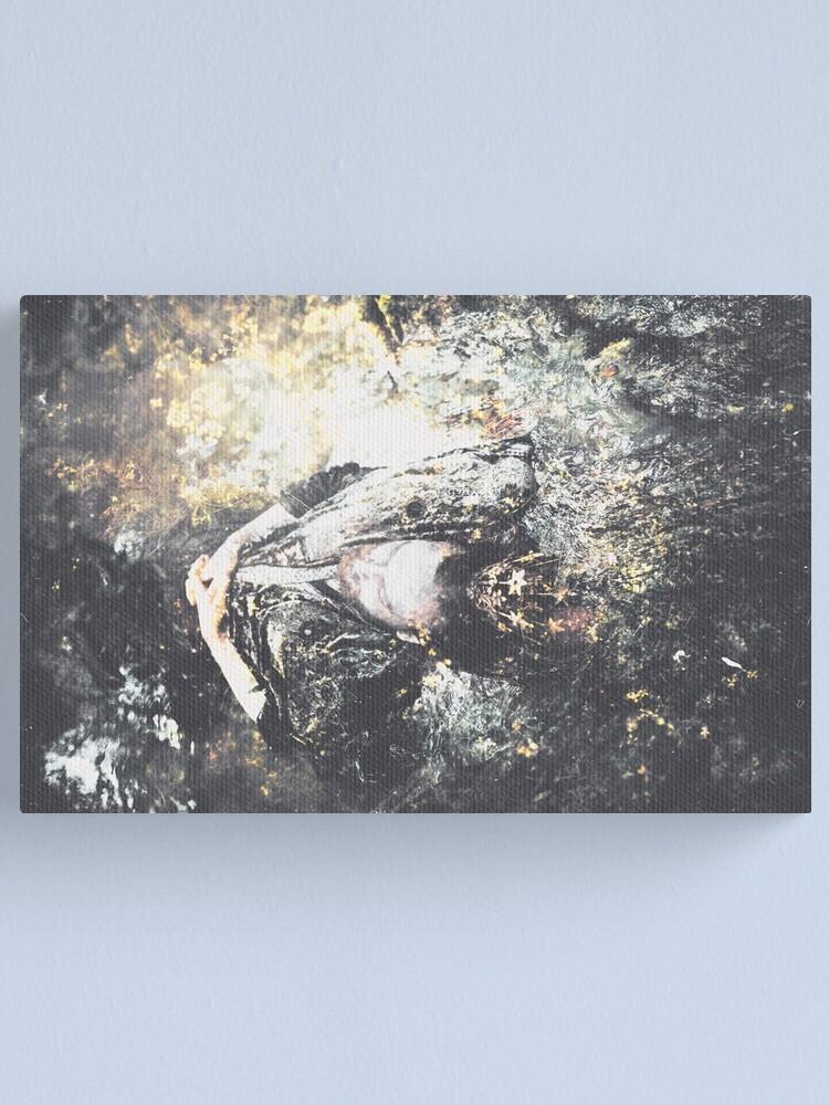 Alternate view of Une Mer de Cuivre Canvas Print