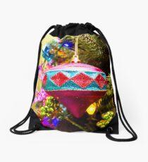 Dangle Bauble Drawstring Bag