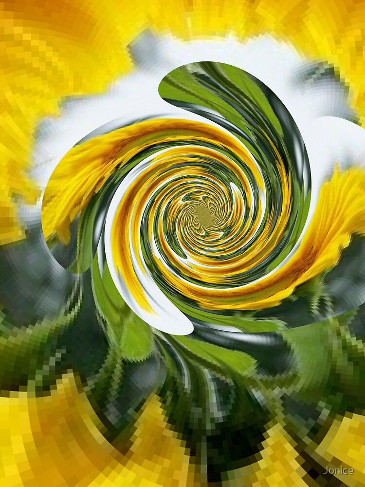 Sunflower Polar Inversion Twist by Jonice