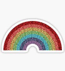 Sparkly Glitter Rainbow Sticker