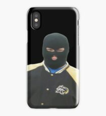 "Masked Dude ""All Your Currency Now"" Shirt iPhone Case/Skin"