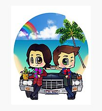 Winchesters in Hawaii Photographic Print