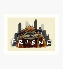 He'll Be There For You  Art Print