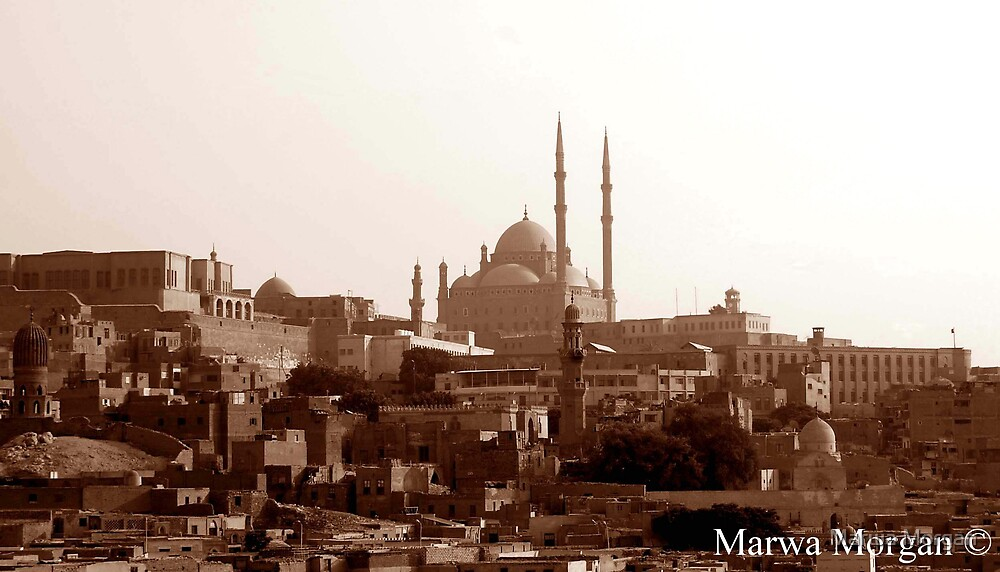 Cairo in an old mood. by Marwa Morgan