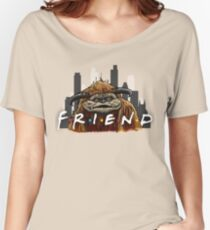 He'll Be There For You  Women's Relaxed Fit T-Shirt