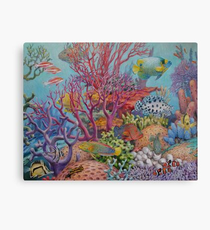 South Sea Reef Canvas Print