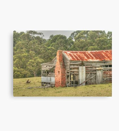 Holiday Home Going Cheap Canvas Print
