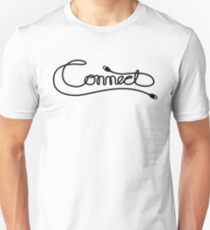 Via Link Cable (Black on White) T-Shirt
