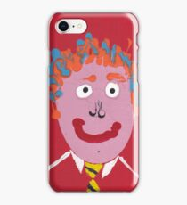 Chris - Face à flaques - Martin Boisvert iPhone Case/Skin