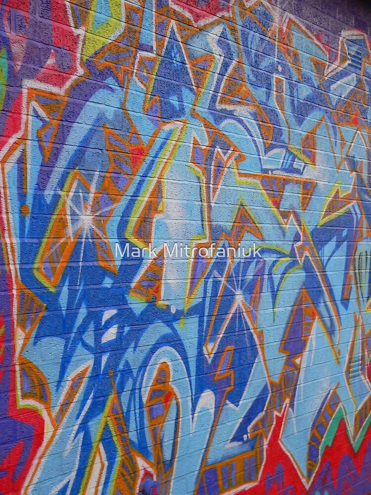 Art forward slash crime. by Mark Mitrofaniuk