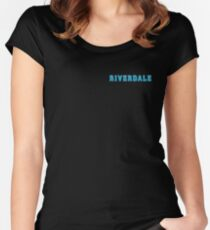 Riverdale Title Women's Fitted Scoop T-Shirt