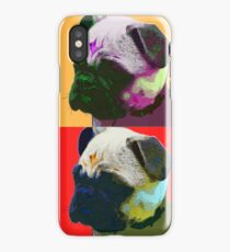 Pug Warhol iPhone Case/Skin