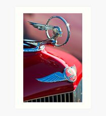 1933 Pon Hood Ornament -377c Art Print