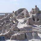 sand castle by daviddonabie
