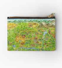 Stardew Valley Map Studio Pouch