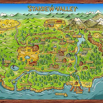 Stardew Valley Karte von ccb9951
