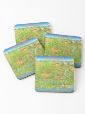 Stardew Valley Map Coasters