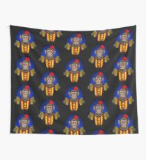 Evil Monkey Wall Tapestry