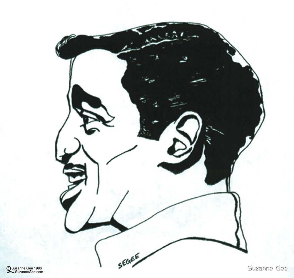 Sammy Davis Jr. by Suzanne  Gee