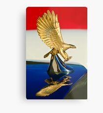 1986 Zimmer Golden Spirit Hood Ornament -0702c Metal Print
