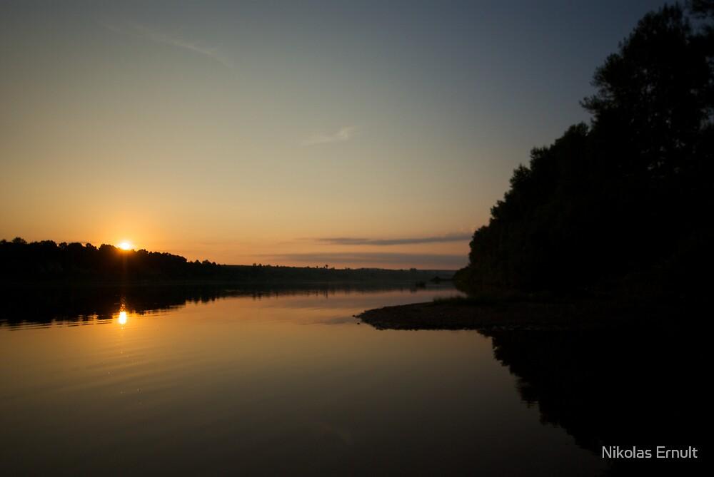 Sunrise on Belaïa by Nikolas Ernult