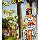 Weinlese-Kuba-Reise-Plakat von AllVintageArt