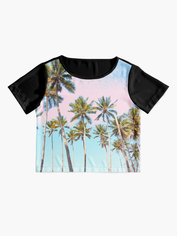 Vista alternativa de Blusa Coconut Palms #redbubble #decor #buyart