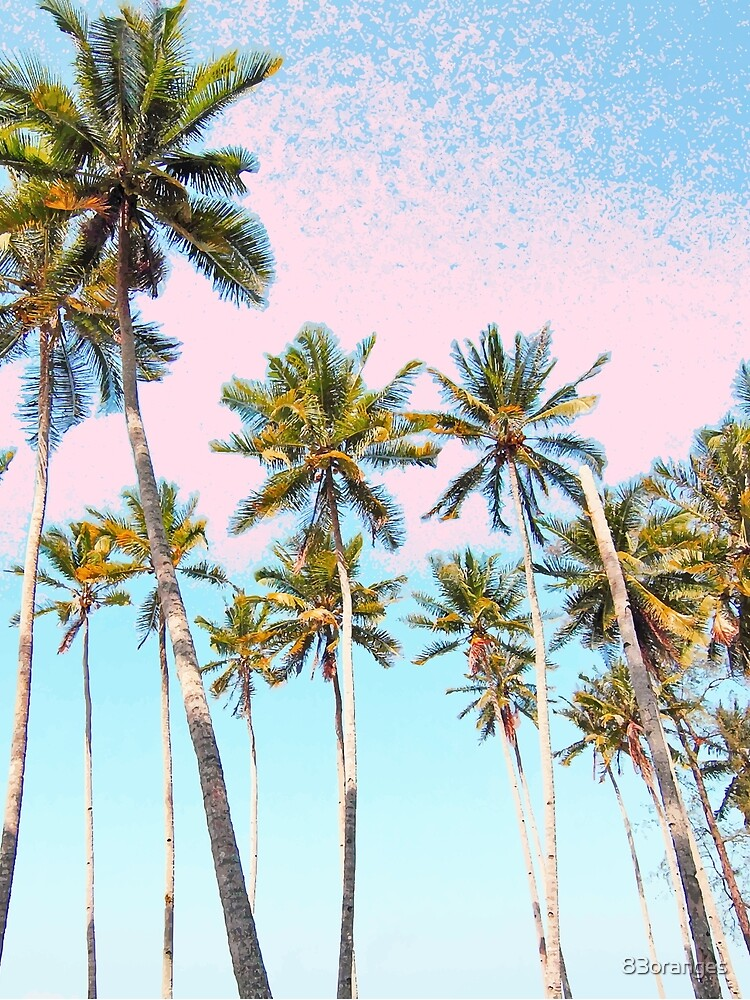 Coconut Palms #redbubble #decor #buyart de 83oranges