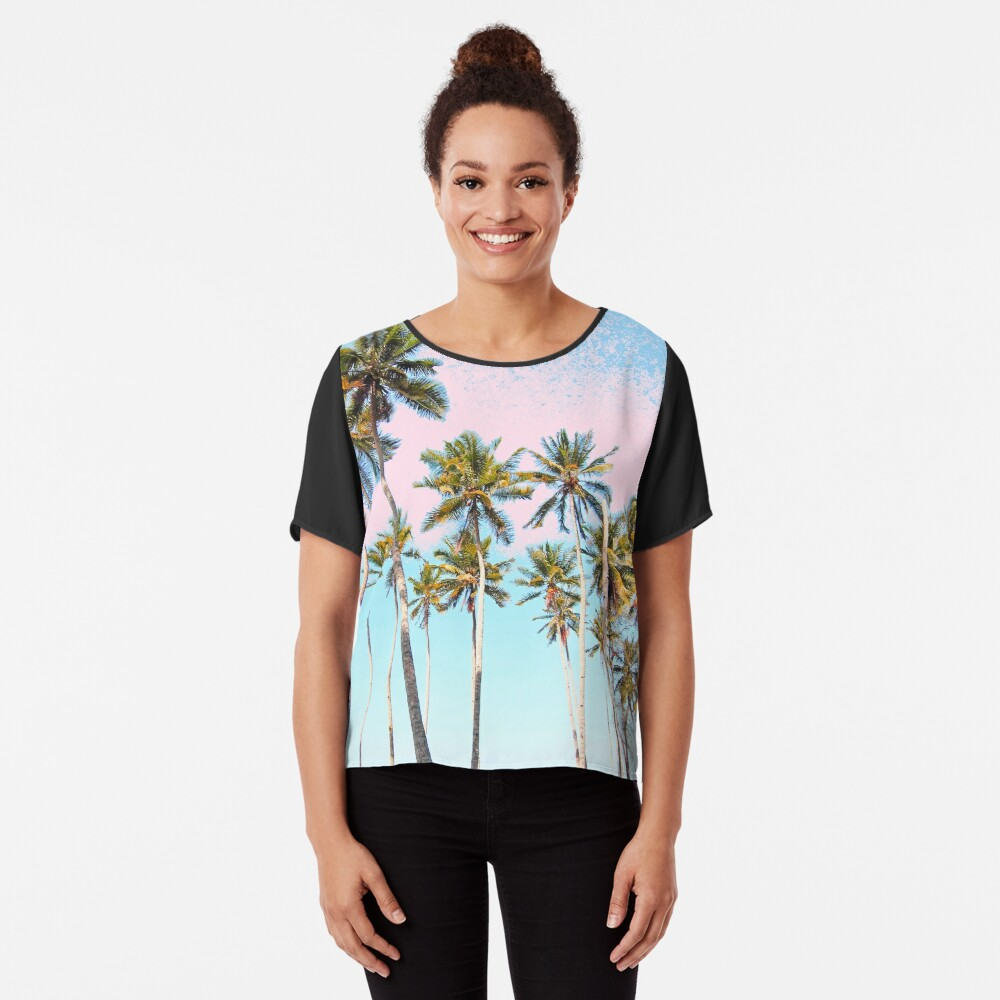 Coconut Palms #redbubble #decor #buyart Blusa