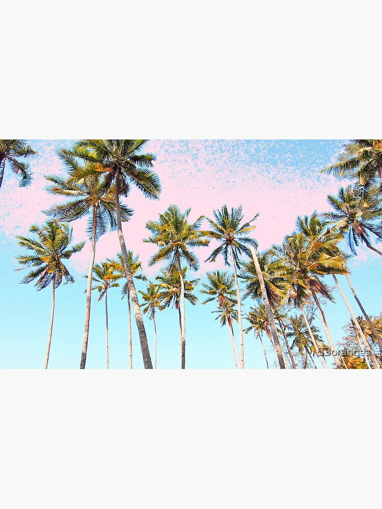 Coconut Palms #redbubble #decor #buyart by 83oranges