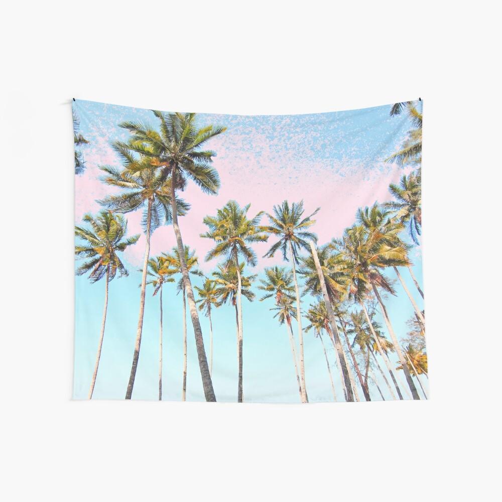 Coconut Palms #redbubble #decor #buyart Wall Tapestry