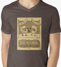 Old Timey Boxing Games Men's V-Neck T-Shirt