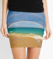 Double Rainbow Baldwin Beach Mini Skirt