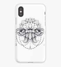 ornamental Lotus iPhone Case/Skin