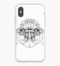 ornamental Lotus iPhone Case
