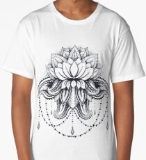 ornamental Lotus Long T-Shirt