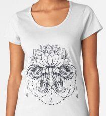 ornamental Lotus Women's Premium T-Shirt