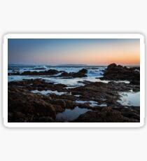 Rocky Coast Sticker
