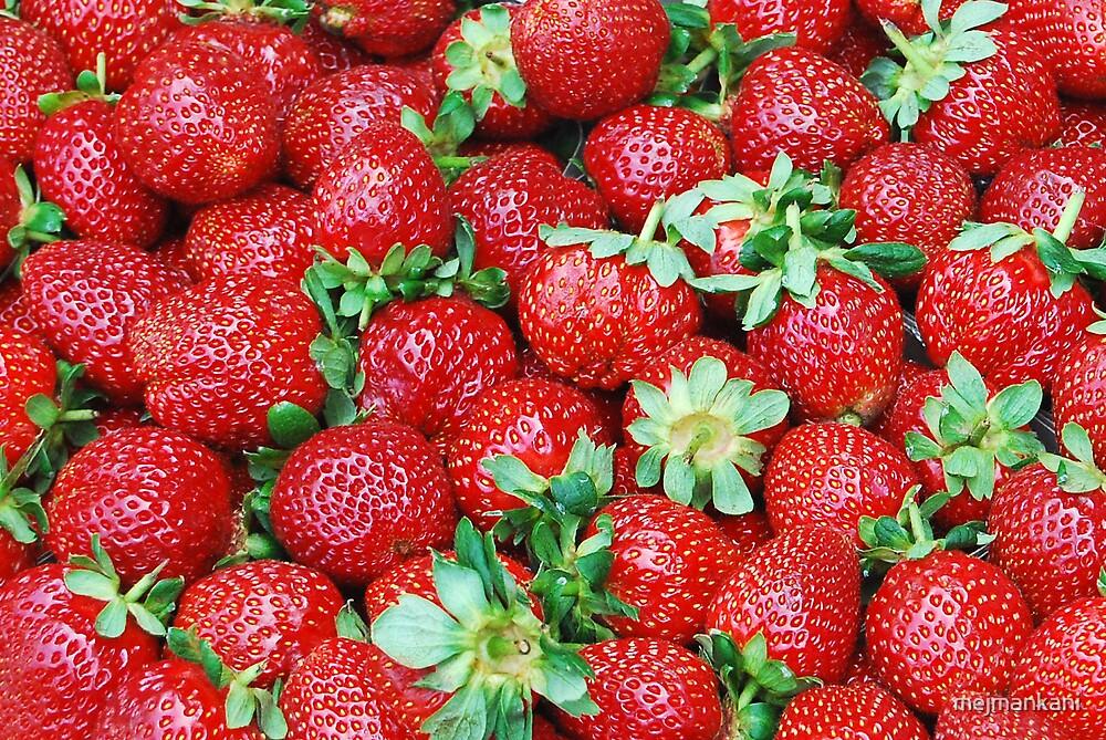 Strawberries by mejmankani