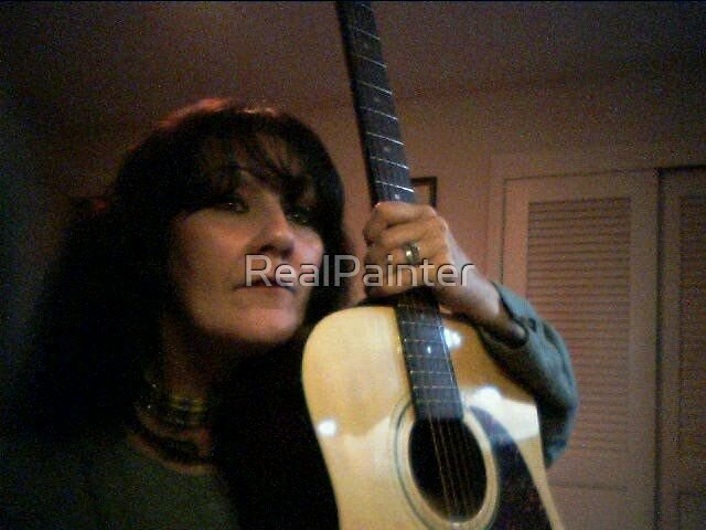 My 12 String Guitar and Me by RealPainter
