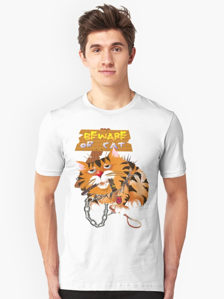 Guard Kitty Unisex T-Shirt Front