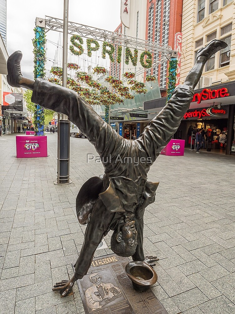 Hand Spring by Paul Amyes