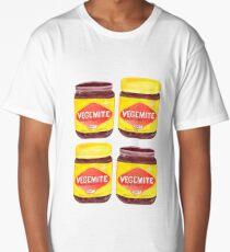 Vegemite Jars Long T-Shirt